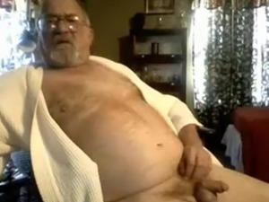 grandpa stroke and show on cam