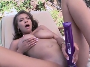Big assed babe toys cunt