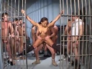 2 Tramps Go To Jail For Prisoner schlong