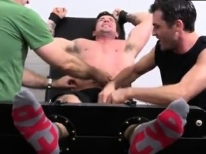 Straight footballers milked gay first time Trenton Ducati Bo
