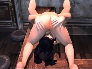 Hitomi Lesbian Sex - Incredible 3D anime xxx world