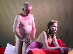 19 honey babe is rimming old ass in doggystyle