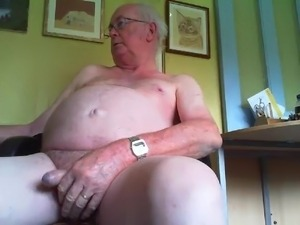old man cock