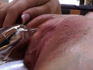 Fetish tramps rub clits