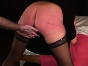 German BDSM and spanking with slave Heidi