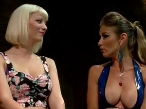 Masochism lesbie Domination funtime close by Cherry Torn bound And Strapon...