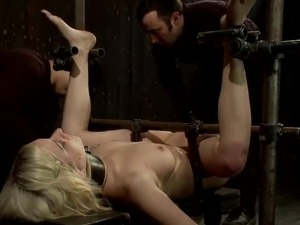 Dirty Cherry Torn has Whipped And Bonded As She loves
