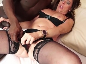 Hot milf and her younger lover 178