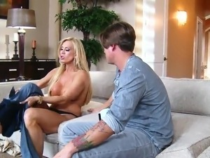 Innocent Stud makes love His Girlfriend's Spicy milf not far from great tits