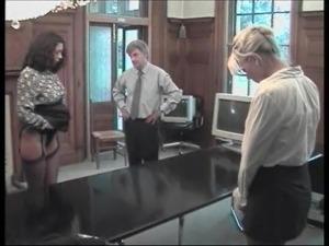Secretary Spanking