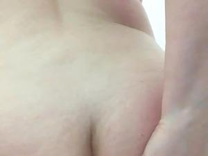 The slap of my ass