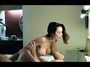 Milf has very first time sex