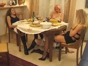 4some French Milf Lesbian
