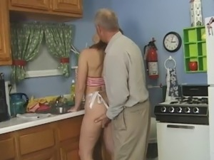 Old Man In The Kitchen