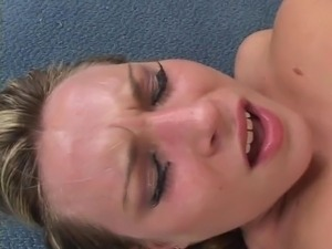 Nice horny chick gets fucked hard