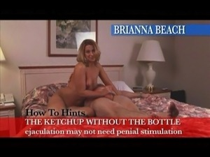 Brianna Beach plays with his asshole