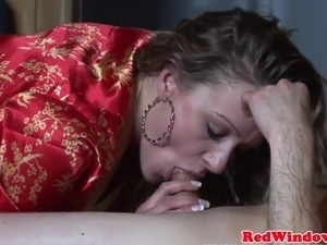 Creampied amsterdam hooker giving head before getting pusyspounded Amsterdam,...