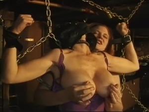 Rusty Rhodes - Big Boobs and Bound