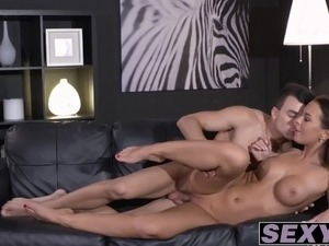 Horny Alicia Wild loves getting her pussy drilled hard