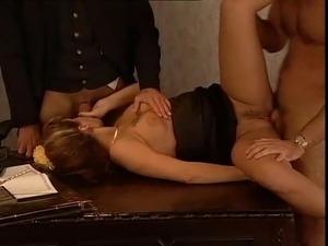 Kelemen Anna Kelly Lenox classic Hungarian threesome