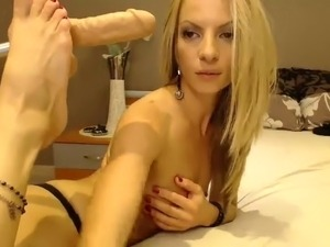 Sexy Nylon Foot Webcam Show