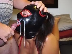 Whore Slave Cum shot