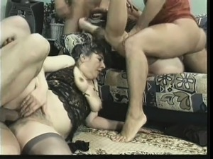 Naughty swingers love wife swapping and shoving it up tight butts