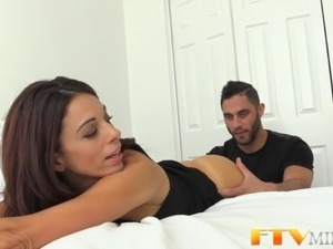 Natural milf cum covered
