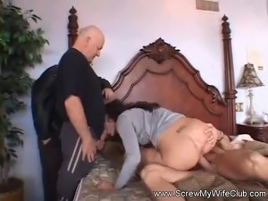 Mrs. Morgan First Time Swinger