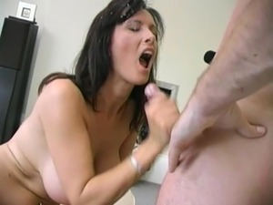 cum covered milf