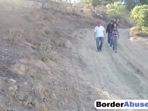 Amateur Threesome For Border Sluts Is Amazing