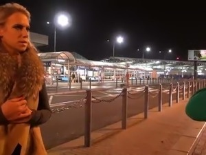 Big Titty Milf Airport Pick up and Fuck