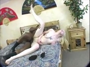 MILKY WHITE BLONDES GIRL FUCK BIG BLACK COCK