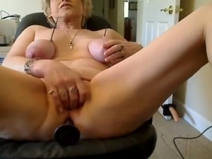 Granny Cam Shows Kinky Compilation