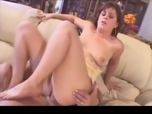 Cute curvy Latina throated and analed