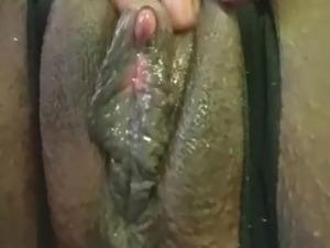 Phat wet creamy BBW pussy
