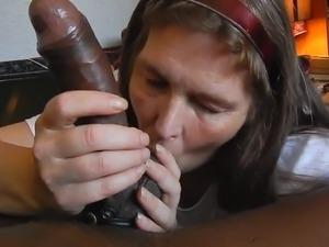 Amateur Mature Swallows Cum POV