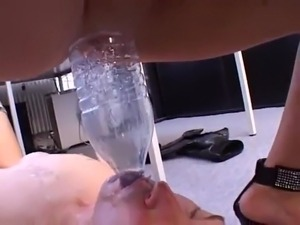 FEMDOM PISS IN MOUTH