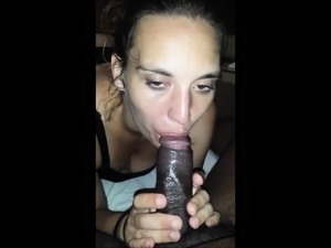 Cock and coffee are always black for her