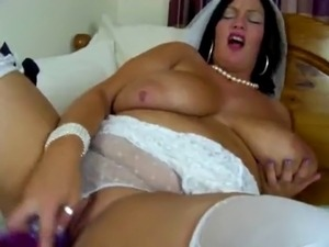 The bride Big titty tease