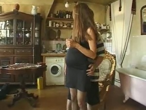 French Hairy Pregnant Milf