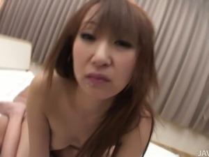 Lustful Japanese mom Anna Mizukawa gets double penetrated
