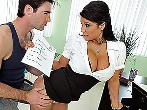 Banging the Hot Teacher For Better Grades!