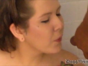 White Teen Double Interracial Golden Shower