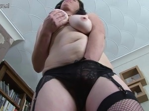 Hairy British mother needs a good fuck