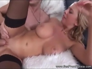 Blonde Anal Sex for Teen Lady