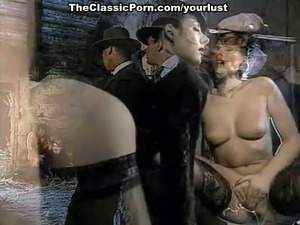Exquisite retro porn video with hot brunette milf slag