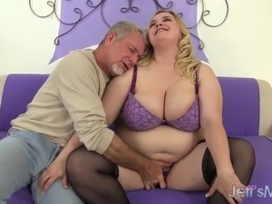 Big Boobed fat pussy fucked