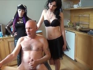 Ulf Larsen peeing, flashing, wanking & eating sperm