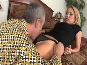 Older Blonde Love Getting Fucked